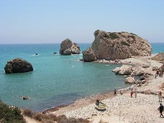 Aphrodite's rock, just five minutes drive from Pissouri.