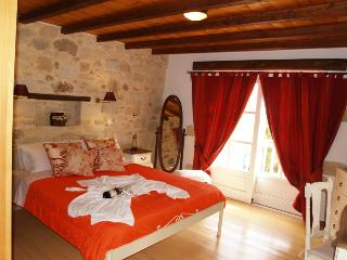 The master bedroom of the villa will take all your troubles away