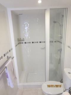 En-suite Bathroom with Shower, WC and basin