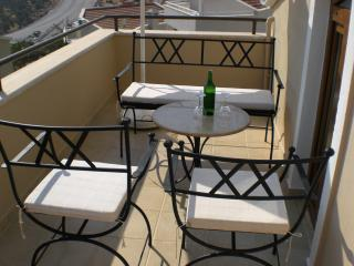 Second fioor balcony,excellent views over Kalkan Bay!