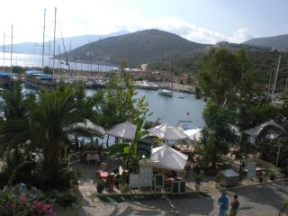 Have lunch overlooking Kalkan harbour!