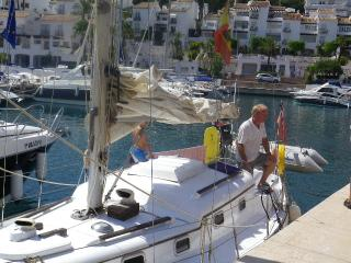 Sailing trips with Suki from Marina del Este