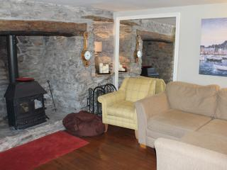 Snug Lounge with Inglenook Fireplace - Grown Up Get Away  & Chill Zone