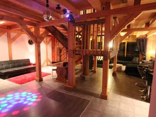 Disco, Chalet Pomet, a large Chalet in Morillon, The Grand Massif, Catered or Self Catered