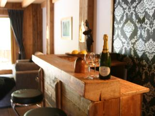 Bar area, Chalet Pomet, a large Chalet in Morillon, The Grand Massif, Catered or Self Catered