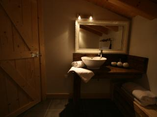 Bathroom 1, Chalet Pomet, a large Chalet in Morillon, The Grand Massif, Catered or Self Catered