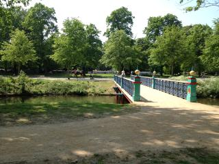 Lovely Victoria Park, just steps from the apartment.