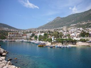 Classic view of Kalkan's harbour and Old Town