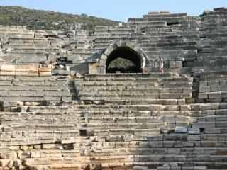 Ancient ruins at Patara only 20 minutes away