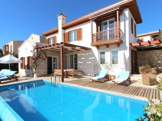 Villa Luna with brand new extended sun terrace and shaded seating area with pergola