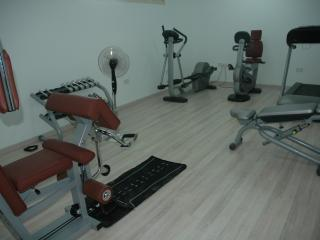 Gym facilities included