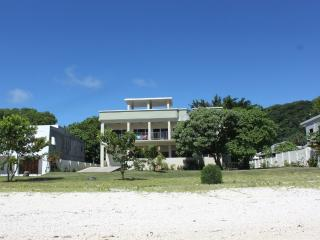 Latest of house from beach