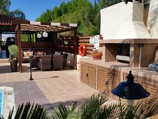 Large barbecue area