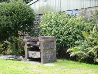 Double garage, and barbecue awaits.........