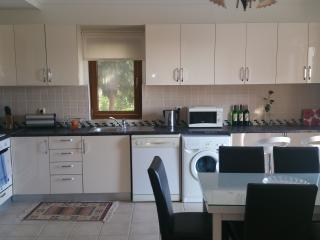 Updated kitchen with all white goods.