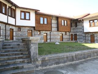 Outside of Chalets, a small complex of 11 properties