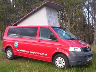 Holiday camper vans in Scotland