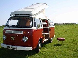 Holiday camper vans in Wales